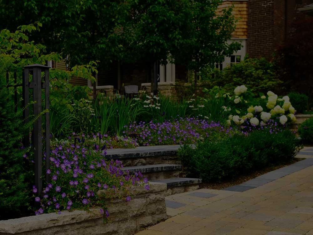 Cleveland Commercial Garden Design